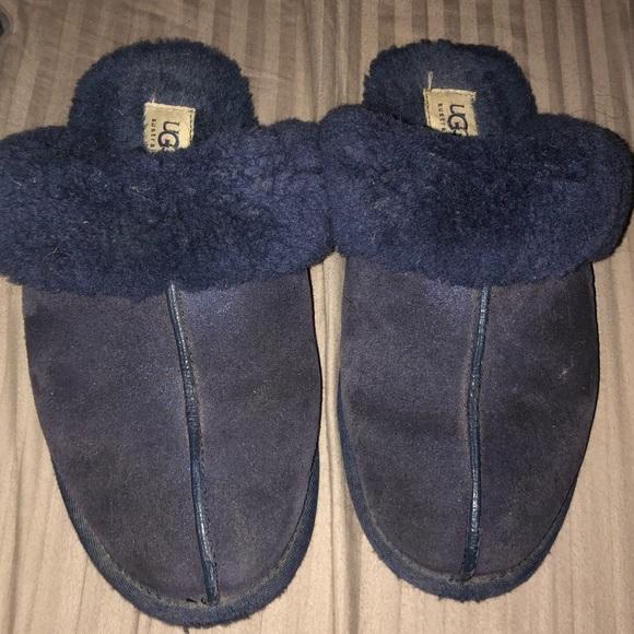 UGG Shoes | Navy Ugg Slippers | Poshmark